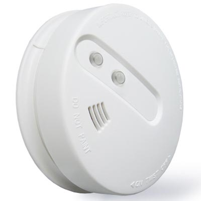 combined smoke & heat detector